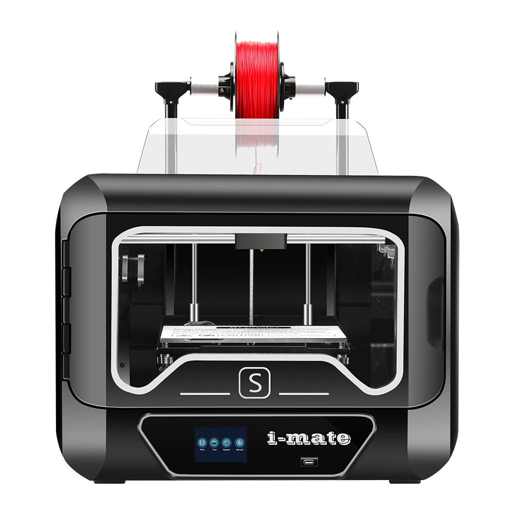 A QIDI TECH i-MATES extra 0,2 mm-es extruder 270 * 200 * 200 mm-es nagy méretű 3D nyomtatószállítást kap az EU raktárából