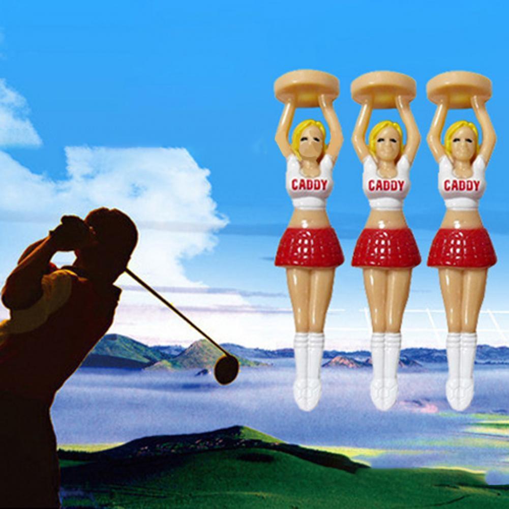 Mini Tees de Golf en plastique en form de Bikini
