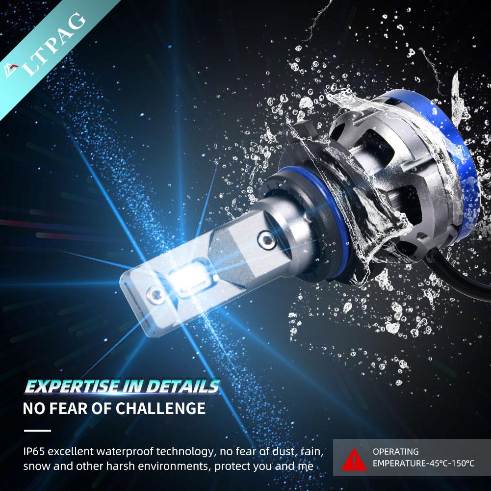 IP68 Waterproof LED Headlight Bulbs ship from EU Poland/Germany/UK/US Warehouse