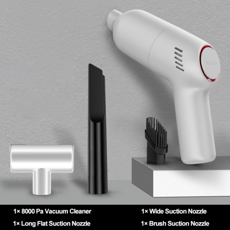 8000Pa Wireless Car Vacuum Cleaner Home and Car Dual Use Cordless Handheld Auto Mini Vacuum Cleaner with Built-in Battrery