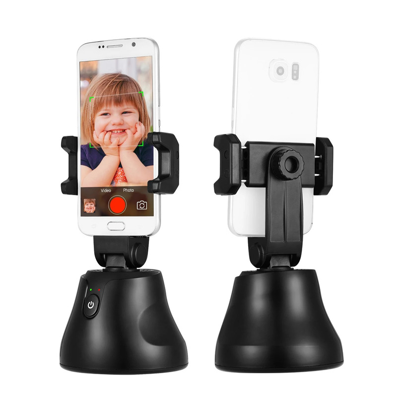 360° Rotation Object Tracking Face Recognition Smart Shooting Camera Phone Mount