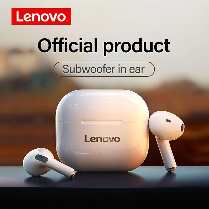 Lenovo LP40 Touch Control Waterproof Bluetooth True Wireless Stereo Earbuds Headphones