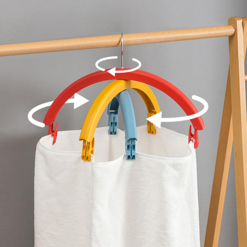 Rainbow Rotating Clothes Hanger