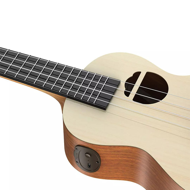 Populele Q1 APP Accurate Identification Intelligent Ukulele Mini Guitar