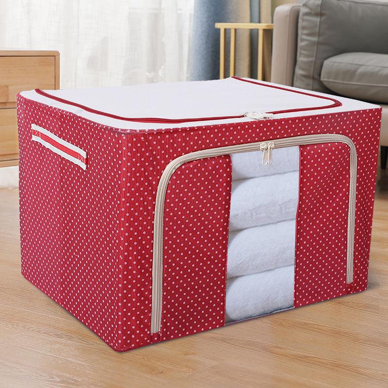 Oxford Cloth Steel Frame Storage Box