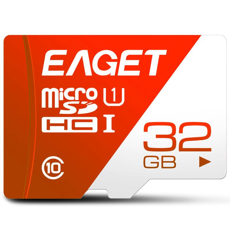 EAGET T1 16G 32G 64G 128G Micro Memory SD Card Class 10 TF Card