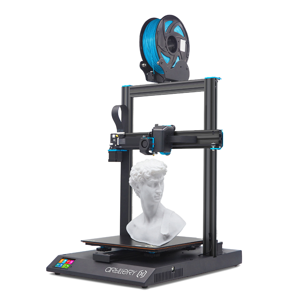 Artillery Sidewinder X1 SW-X1 3D Printer 300x300x400mm Large Plus Size High Precision Dual Z axis TFT Touch Screen Ship from Czech Warehouse