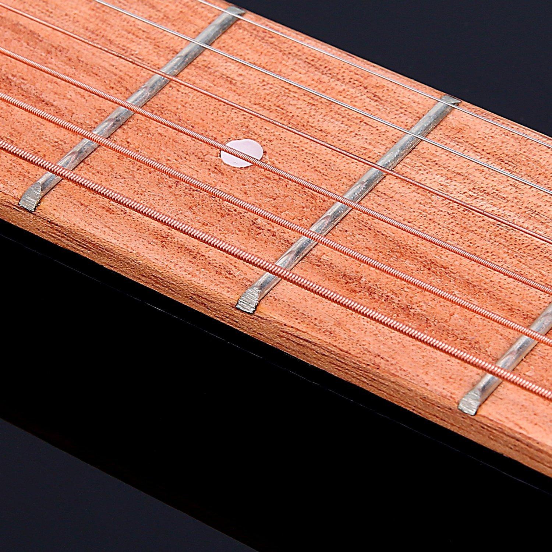 Portable Pocket Guitar Practice Strings Tool Gadget 6 Frets