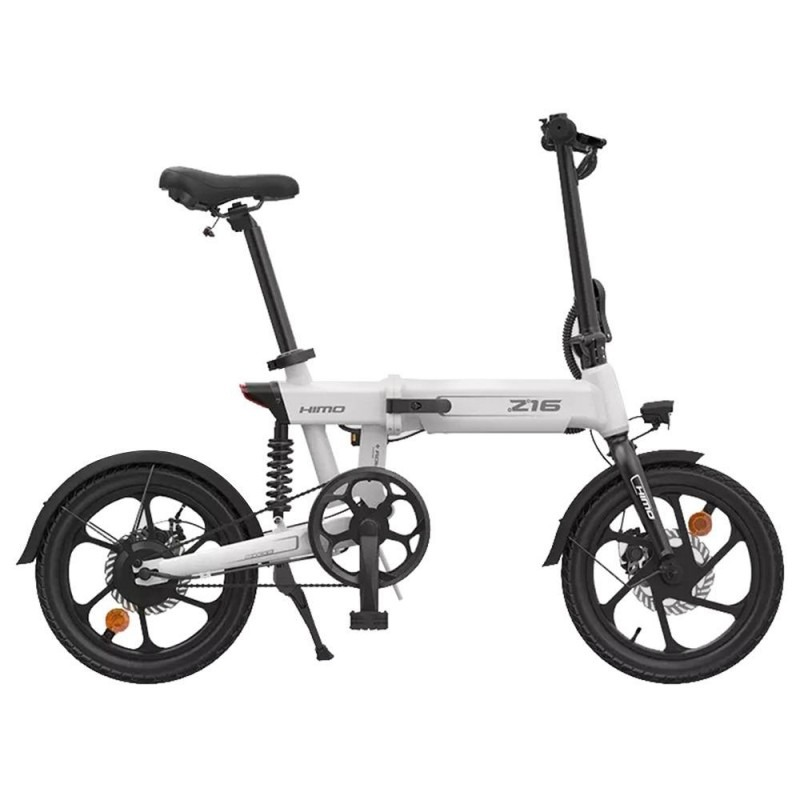 HIMO Z16 Folding Electric Bicycle 250W Motor Removable Battery IPX7 Waterproof Smart Display Dual Disc Brake Ship from UK Warehouse